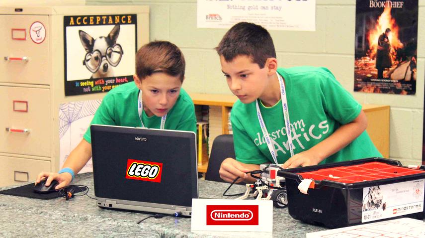 Campamentos de Verano LEGO y NINTENDO
